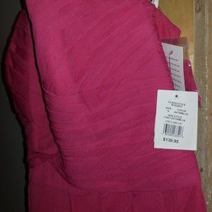 David's Bridal Dresses - BNWT Pink formal bridesmaid sleeveless dress